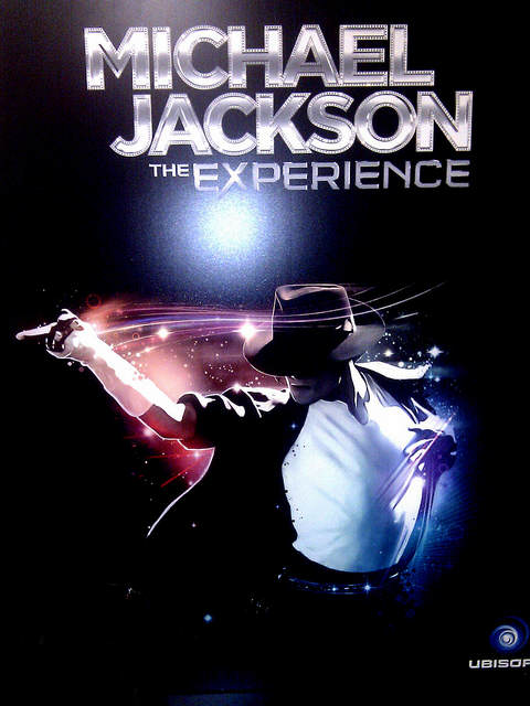 Michael Jackson The Experience - Affiche