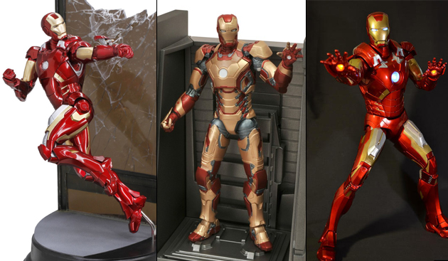 figurine iron man articule