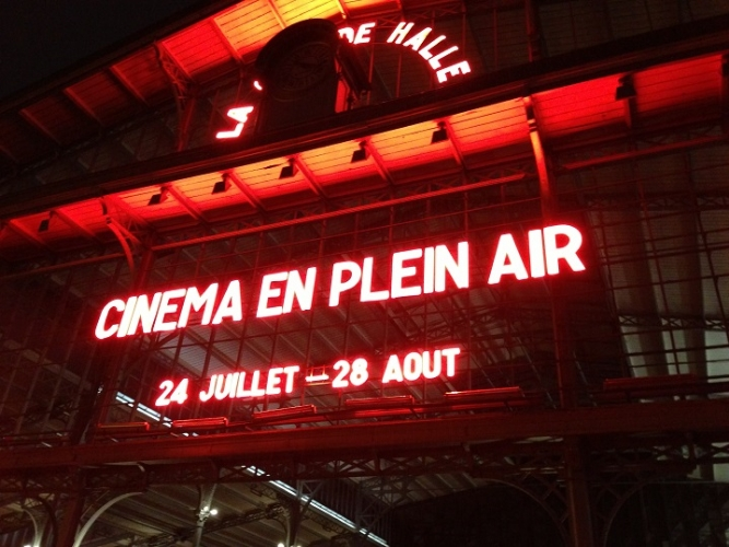 Le ciné en plein air à La Villette [part I]
