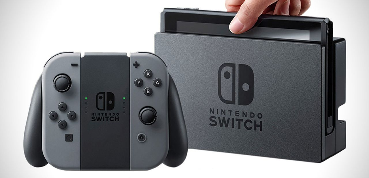 Nintendo Switch et son dock TV