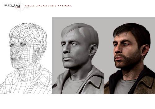 Modelisation d'Ethan Mars