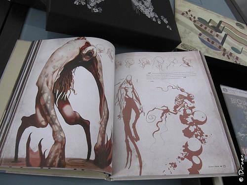 Livre de recherches graphiques  - Boite Collector Bioshock II