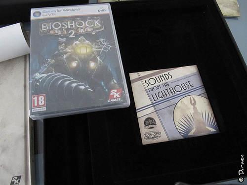 BO du jeu, version CD  - Boite Collector Bioshock II