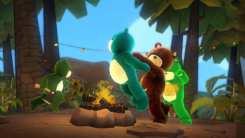 Oups, pardon ! J'ai glissé. Qui veut de l'ours grillé ?