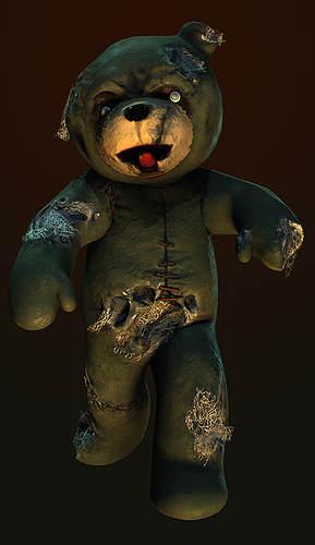 Naughty Bear - Les Zombours