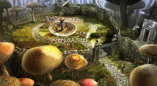Alice Au Pays Des Merveilles - Wii - Décors