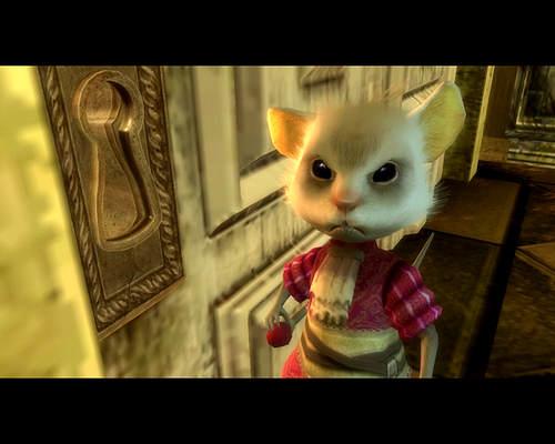 Alice Au Pays des Merveilles - Wii - Cinématique - Le Loir