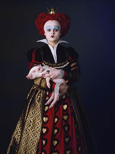 Alice aux Pays des Merveilles - La Reine de Coeur