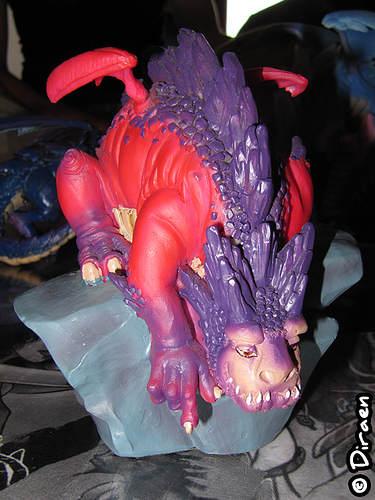 Figurines Dragons Geyser