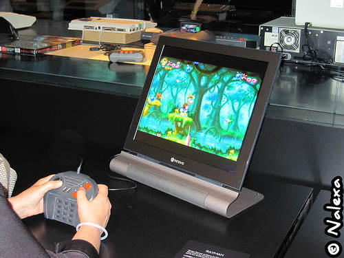 Rayman sur l'Atari Jaguar
