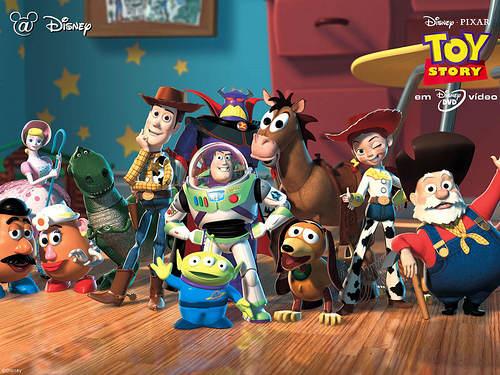 Toy Story 2 - la dream team !