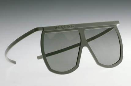 Les lunettes en papier de l'Imax 3D