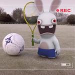 Les lapins fous de foot