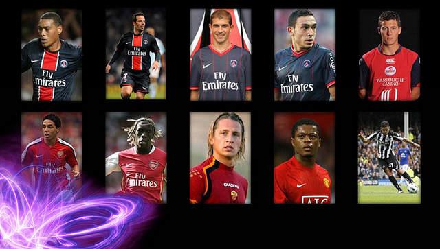 Des vrais footballeurs...