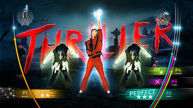 Michael Jackson The Experience - Wii - Thriller