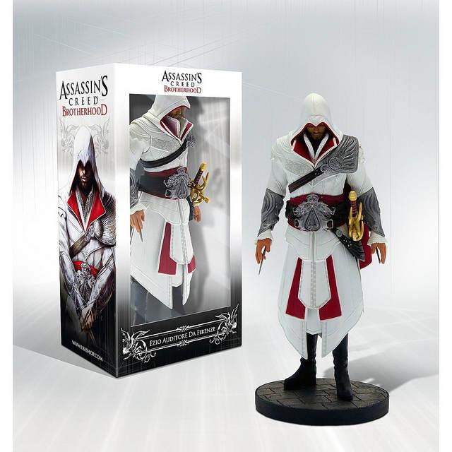 Figurine Collector d'Ezio - Assassin's Creed Brotherhood
