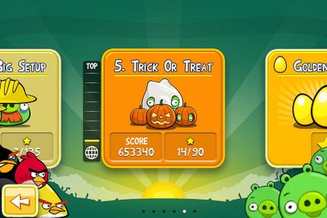 Angry Birds Seasons - Trick Or Treat