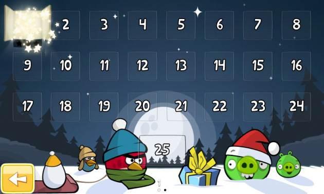 Angry Birds Seasons - Calendrier de l'avent