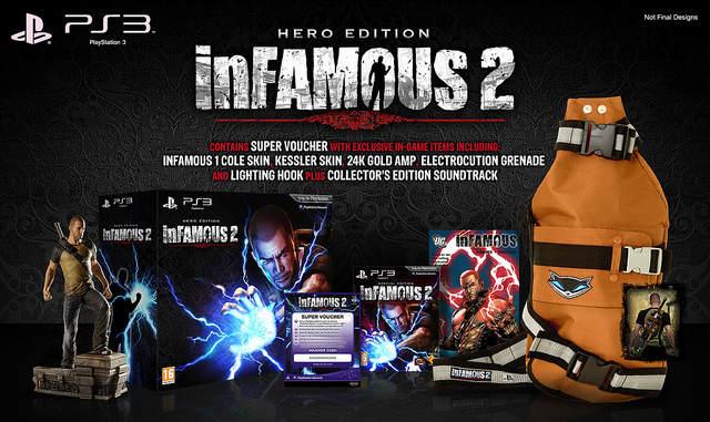La Hero Edition de Infamous 2 en image