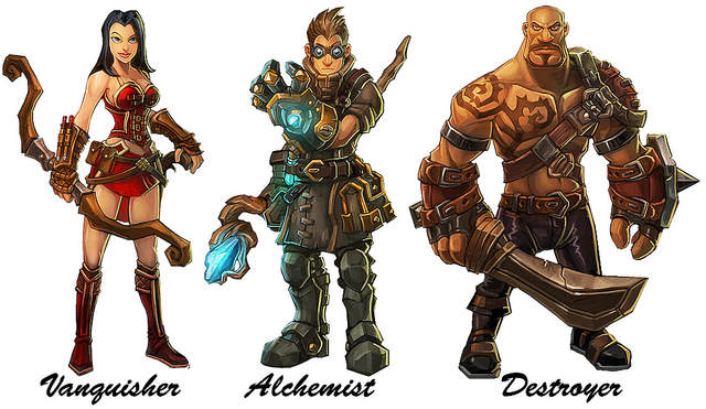 Torchlight - Personnages