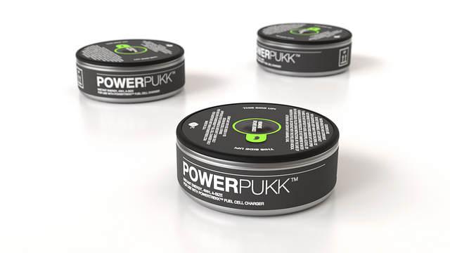PowerPuck - Les piles du PowerTeckk