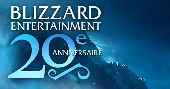 Blizzard à 20 ans tout rond !
