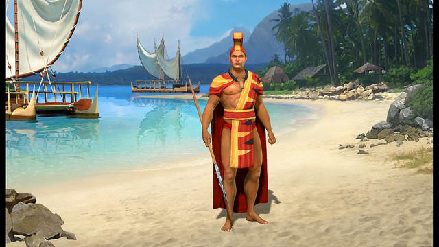 Kamehameha l'unificateur - Screenshot du leader