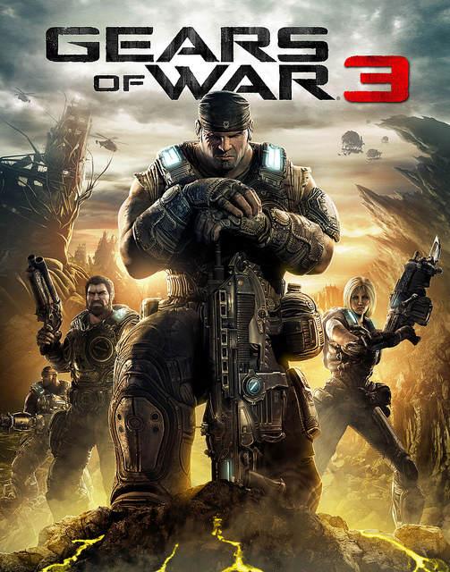Gears of War 3 - Jaquette
