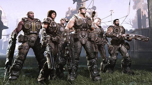 Gears of War 3 - screenshot de la team