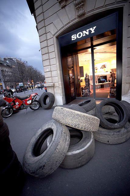MotorStorm: Apocalypse au Sony Style  - Photo de la devanture de la boutique
