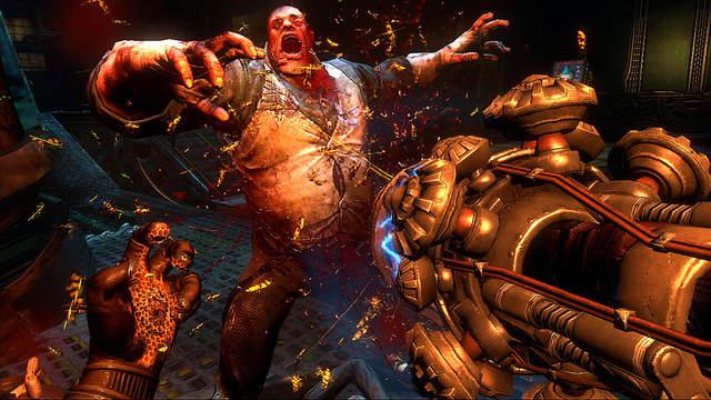 Bioshock 2 - Protector Trials : Screenshot d'un combat