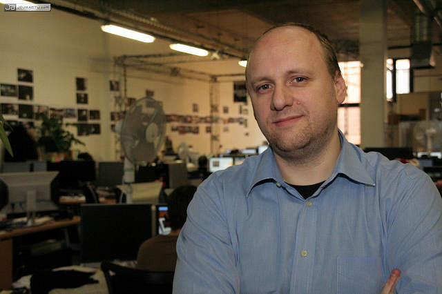 Photo - David Cage, directeur du studio français Quantic Dream