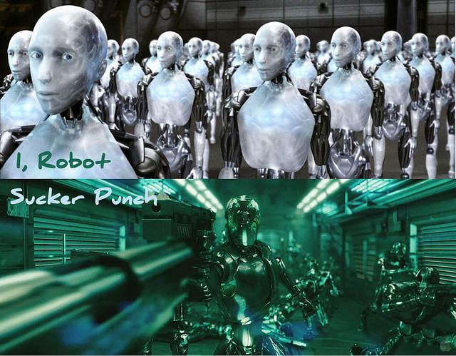 C'est le principe des robots d'ailleurs, avoir moins de réflexe qu'un être humain. Normal quoi...