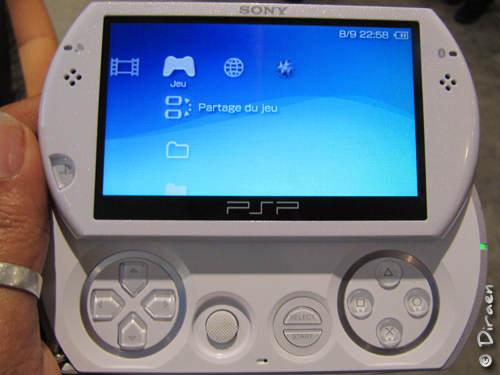 Photo PSP Go blanche - La PSP Go : A peine arrivée qu'elle nous quitte...