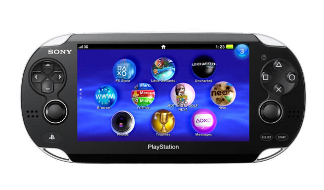 Photo : La NGP - la nouvelle console portable de Sony