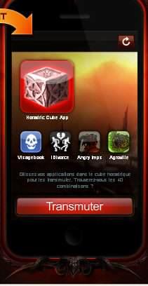 Screenshot : Diablo - L'appli magique