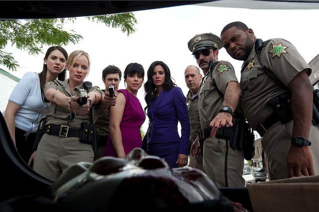 Photo - La partie la plus agée du casting de Scream au grand complet