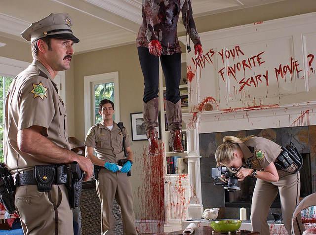 Photo - Au final, on ne sait jamais quel est leur film d'horreur préféré...