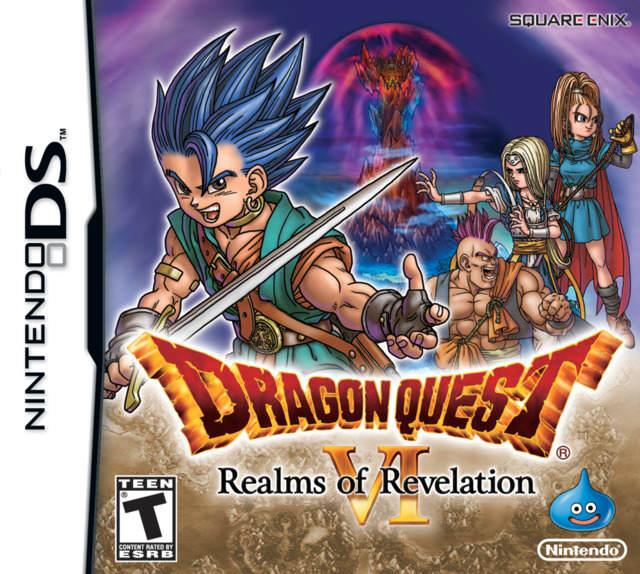Jaquette - Dragon Quest VI - Realms of Revelation