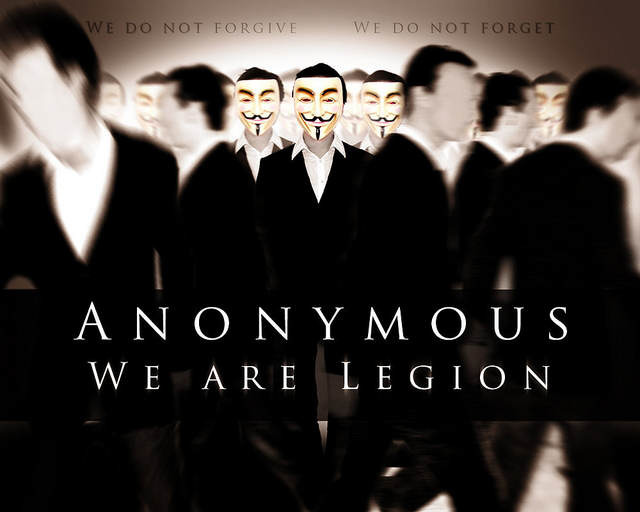 "Montage photo ""Anonymous - We are Legion"""