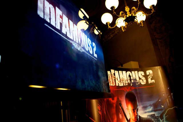 Photo des affiches InFAMOUS 2