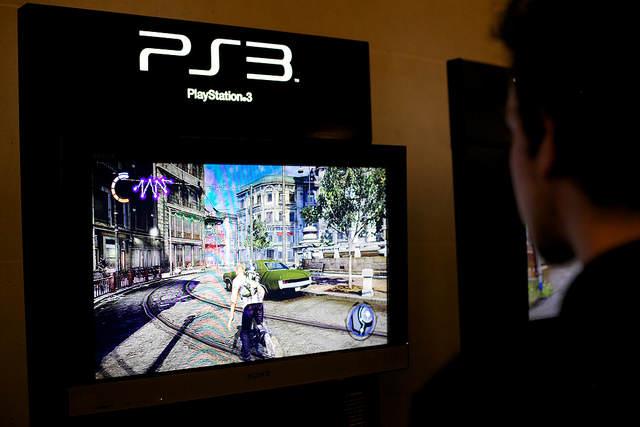 Photo d'un écran de jeu d'Infamous 2
