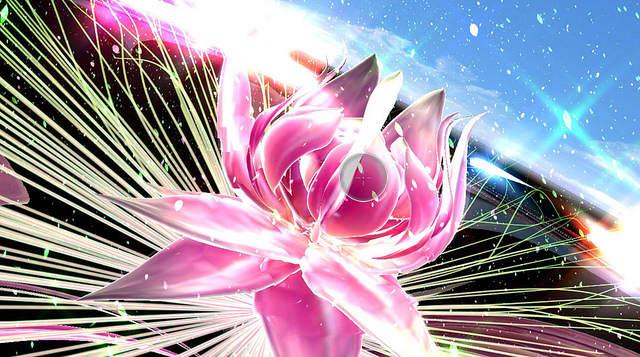 Screenshot du jeu - Une fleur géante