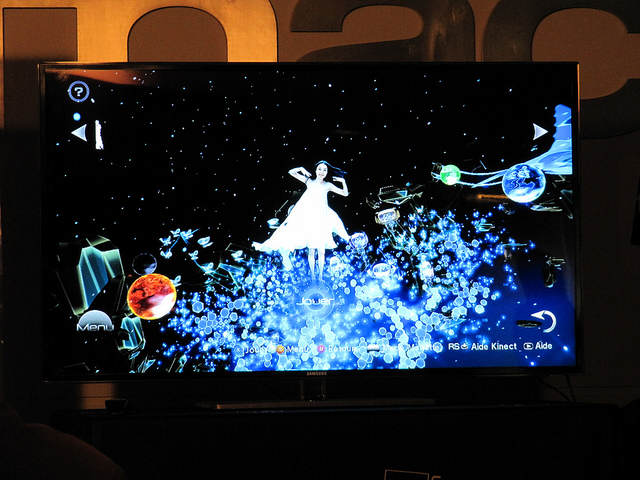 Photo de l'écran de menu du jeu