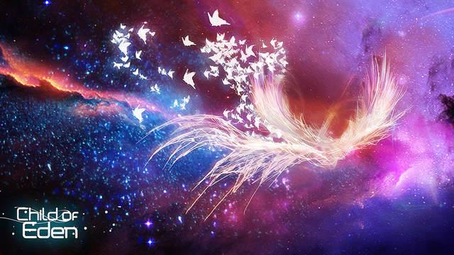 Recherche graphique sur ce qui ressemble à un Phoenix cerné de papillons