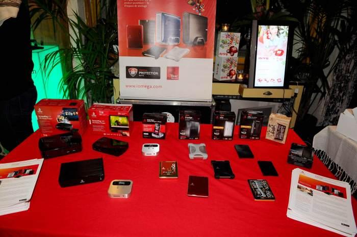 Photo - Stand présetant un bon nombre de produits