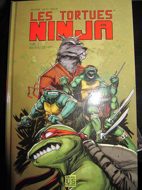 Photo - Couverture du comics