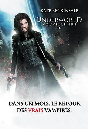 """Affiche """"les vrais vampires sont de retour"""""""