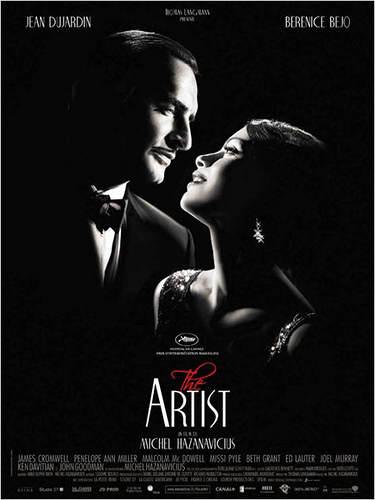 L'affiche du film The Artist