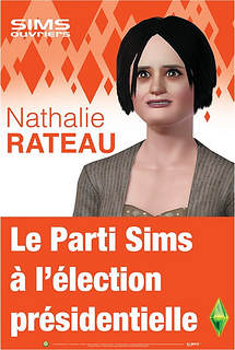 Nathalie Arthaud version sims